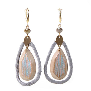 Wood Jewel Earrings- more styles