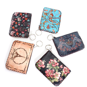 Printed coin purse - more colors