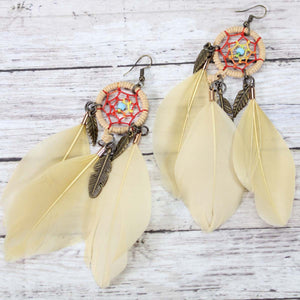 Dream catcher earrings- more colors