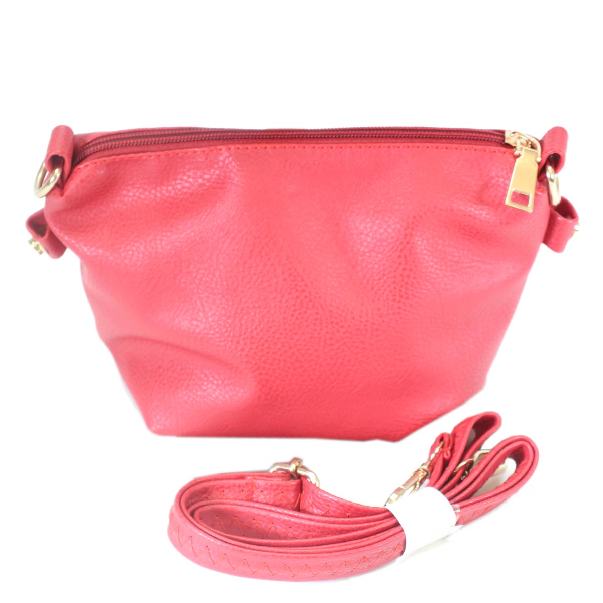 Mini faux leather bag 2 in 1