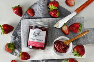 Balsamic Strawberry Spread