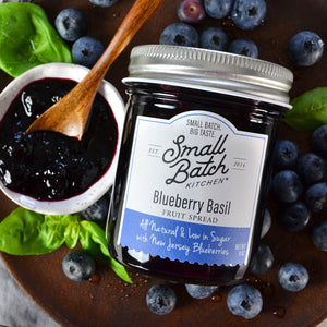Blueberry Basil Spread