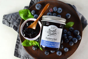 Blueberry Basil Fruit Spread