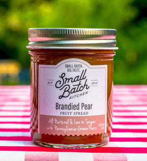 Brandied Pear Fruit Spread