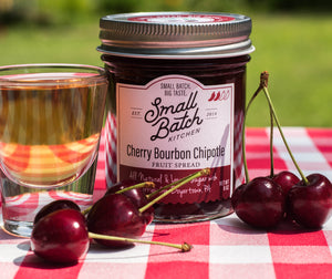 Cherry Bourbon Chipotle Fruit Spread