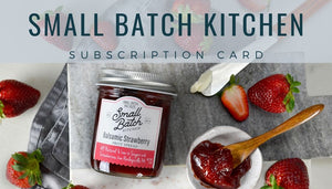 Subscription Card - 12 jars