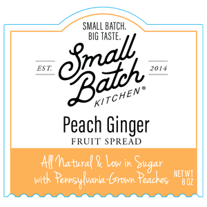 Peach Ginger Fruit Spread