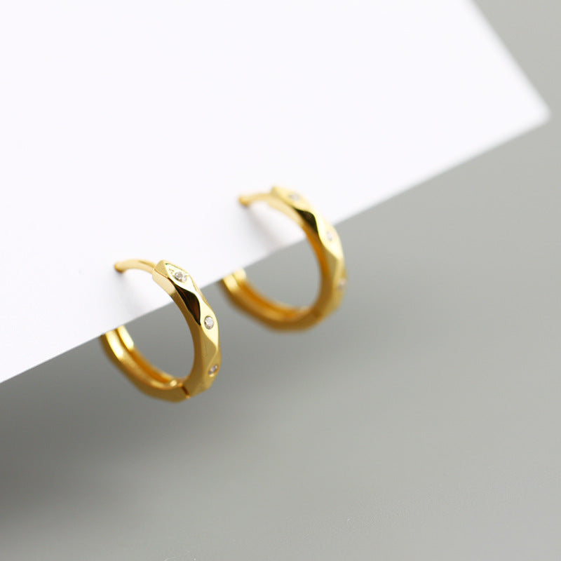 Geometric Hoop Earrings from Empty Whole