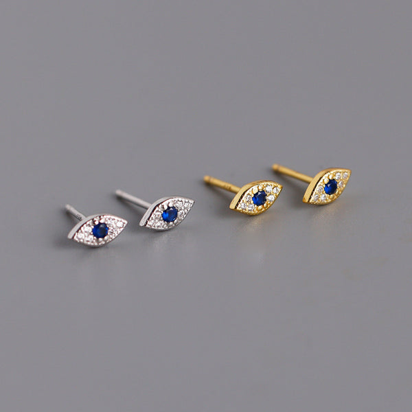 Evil Eye Stud Earrings from Empty Whole