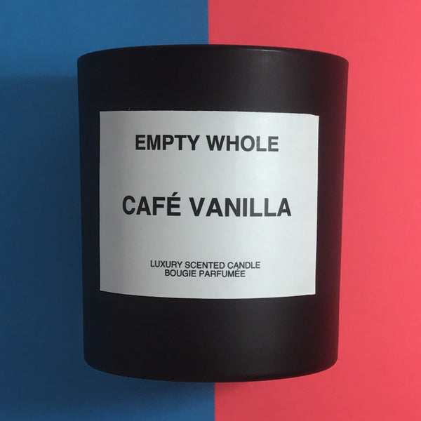 Cafe Vanilla - Empty Whole Scented Candle - Coffee House Candle