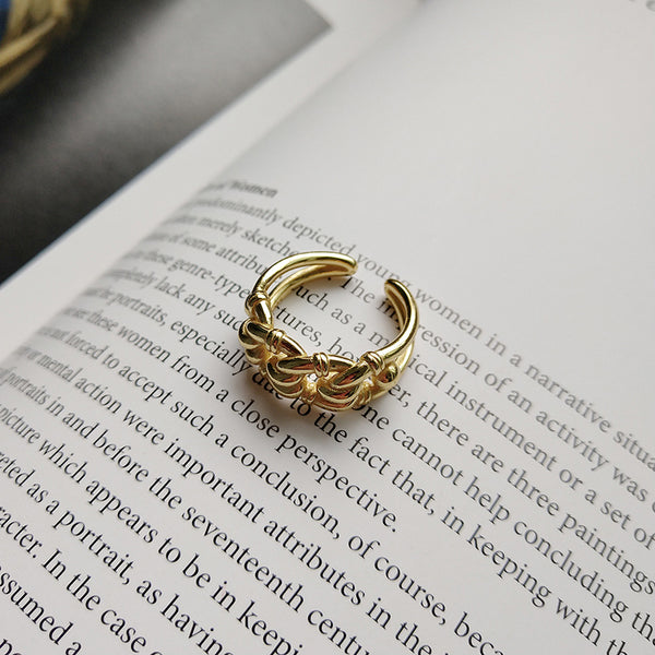 Gold Link Ring from Empty Whole - Empty Whole