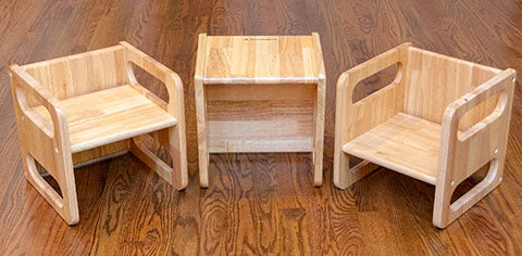 Cube chair weaning toddler chair