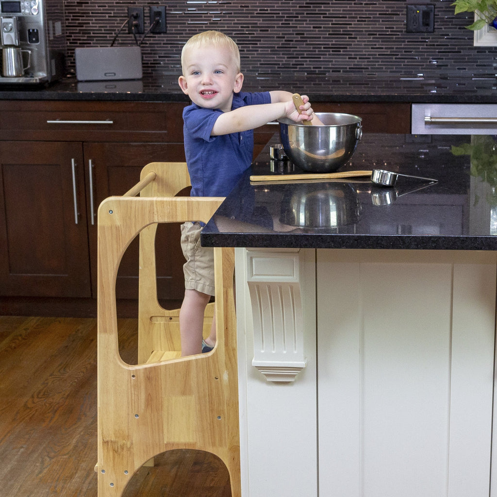 Learning Tower, Kids Kitchen Step Stool, Montessori Furniture, Cooking with Kids, Toddler Tower, Kitchen Helper, Learning Tower, Toddler Kitchen Stool, Toddler Kitchen Stand