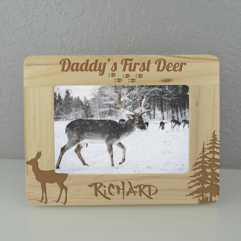Personalized Buck Frame