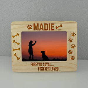 Forever Loyal Custom Dog Frame