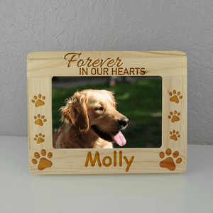 Forever in our Hearts Personalized Frame