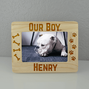 Our Boy Custom Dog Frame