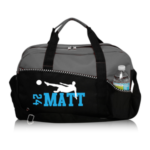 Personalized Soccer Duffle Bag