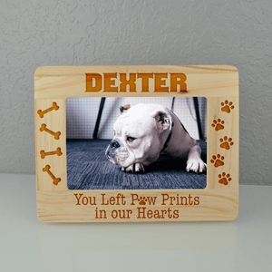Paw Prints Custom Dog Frame