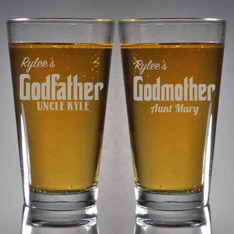 Beer & Whiskey Glasses