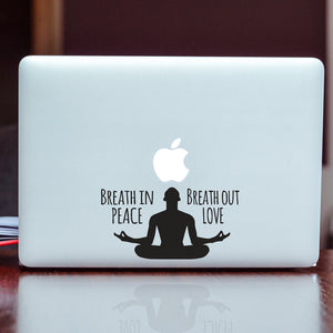 Meditate Car Decal, Om ohm Yoga symbol Laptop, Om Decal, Yoga Symbol Decal, Peace and love Decal, Om, Yoga Symbol Iphone, Yoga Symbol, Ohm