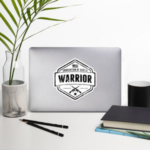 COS Warrior Sticker