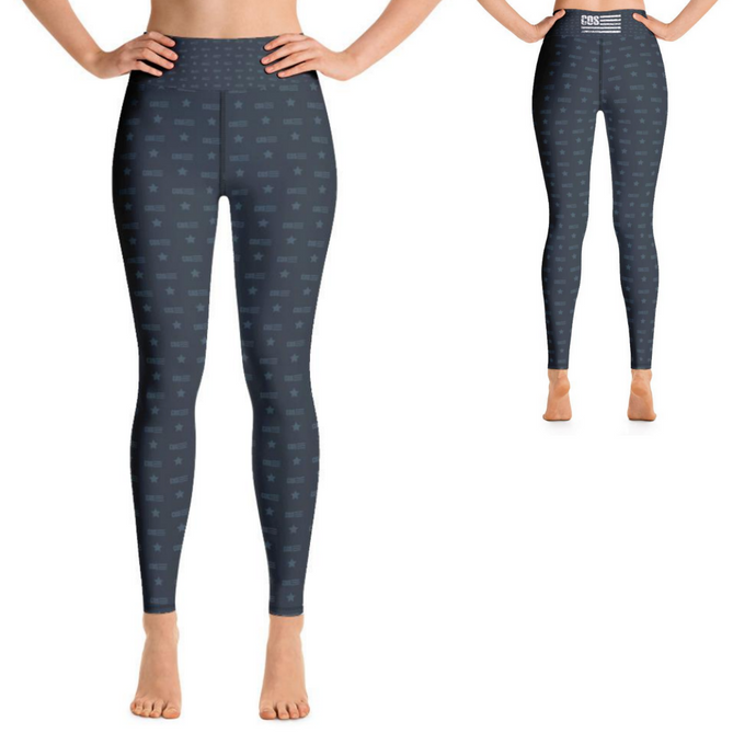 Run The Nation Yoga Leggings (Women's)