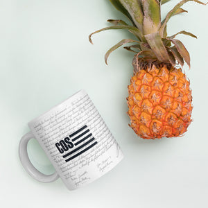 The COS Declaration Mug