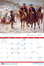 Load image into Gallery viewer, The COS Foundations of America's Greatness 2020 Calendar