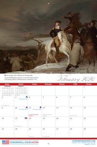 The COS Foundations of America's Greatness 2020 Calendar