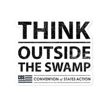 Load image into Gallery viewer, Think Outside The Swamp Sticker
