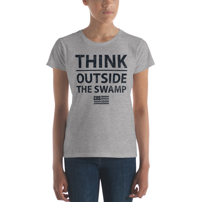 Think Outside the Swamp Tee (Women's)