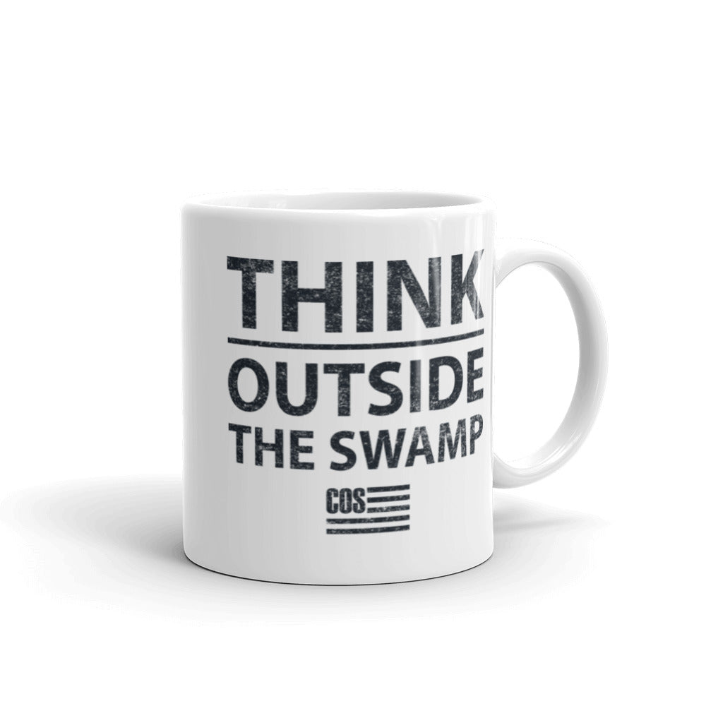 Think Outside the Swamp Mug