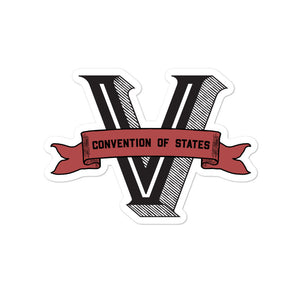 COS Victory Sticker