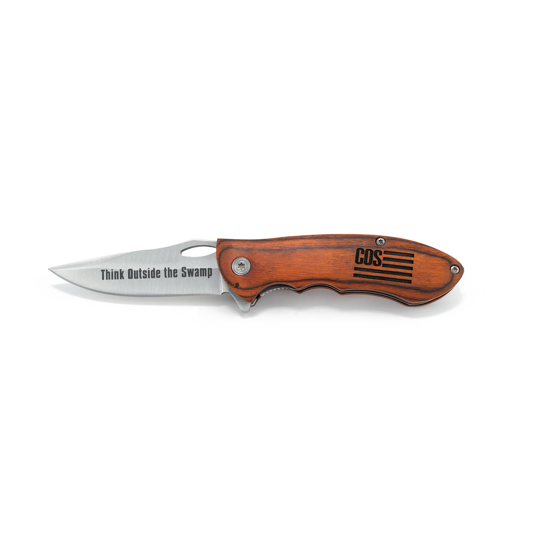 The Minuteman - Engraved Pocket Knife