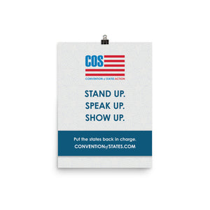 Stand Up Poster 12 x 16""