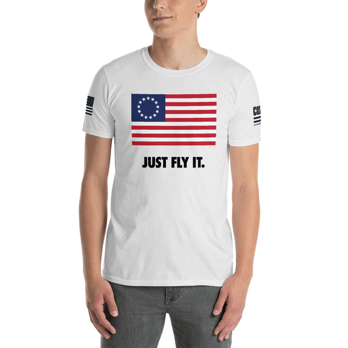 Just Fly It Betsy Ross Tee (Unisex)