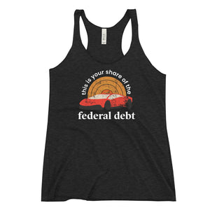 Federal Debt Racerback Tank (Women's)