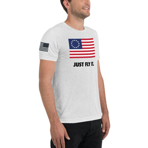 Just Fly It Triblend Tee (Unisex)
