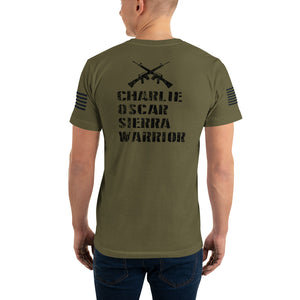 COS Warriors T-Shirt - American Made (Unisex)