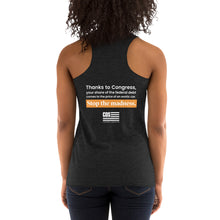 Load image into Gallery viewer, Federal Debt Racerback Tank (Women's)