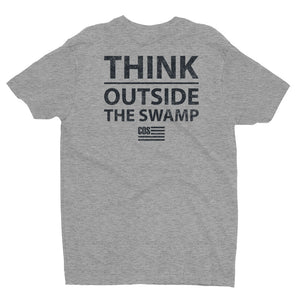 Think Outside The Swamp - Back Print