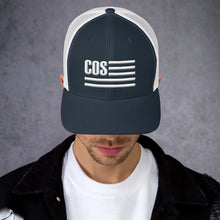 Load image into Gallery viewer, COS Logo Trucker Cap