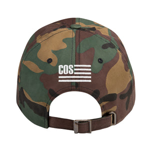 COS Classic Cap in Camo and Pink