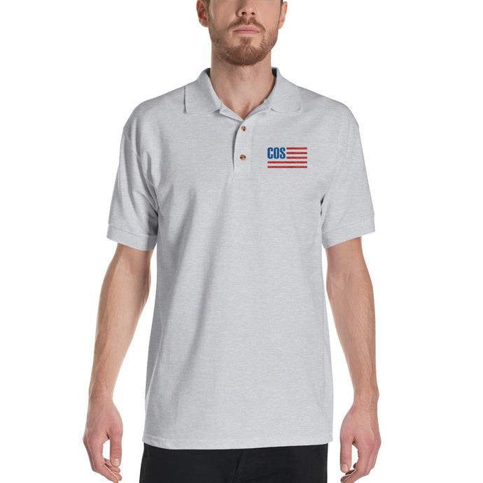 The Activist's Cotton Polo - White, Grey, Black (Men's)