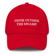 Load image into Gallery viewer, Think Outside The Swamp Hat - American Made