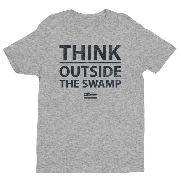 Think Outside The Swamp Tee (Unisex)