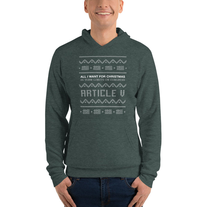 Term Limits on Congress Hoodie (Unisex)