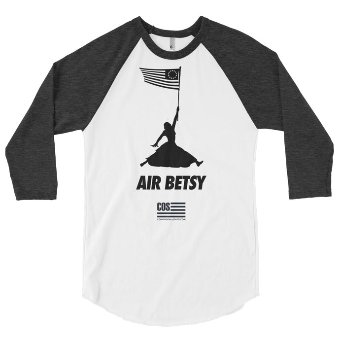 Air Betsy American Made Baseball Tee (Unisex)
