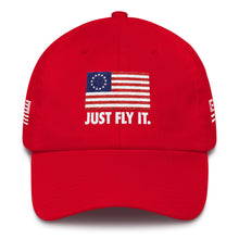 Load image into Gallery viewer, Just Fly It American Made Ballcap
